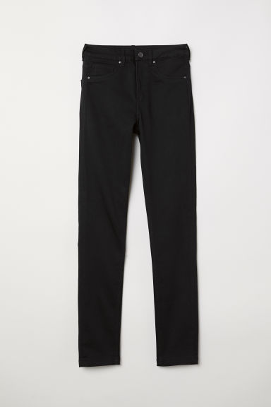 Skinny High Waist Jeggings - Black - Ladies | H&M