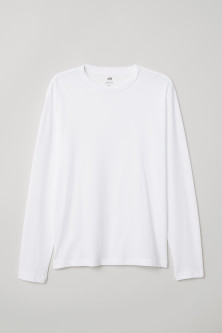 Long-sleeved top Regular fit