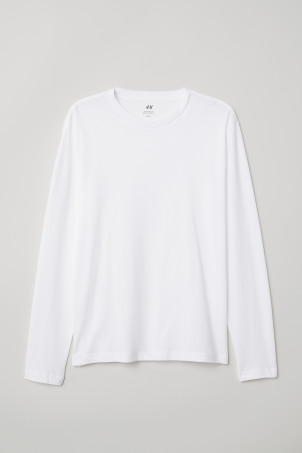 Long-sleeved Regular Ft Shirt