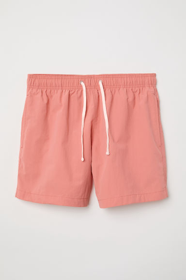 Swim shorts - Coral pink - Men | H&M CN