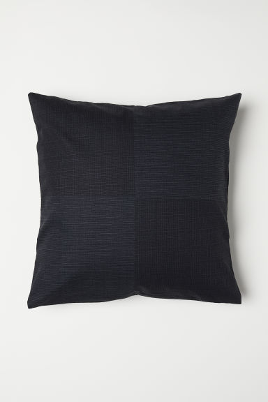 Geweven kussenhoes - Black - HOME | H&M BE