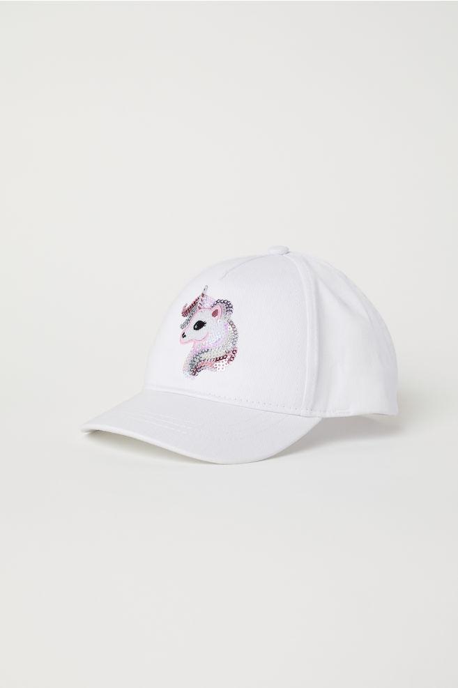 dfe0ca600cc5e Gorra - Blanco Unicornio - NIÑOS