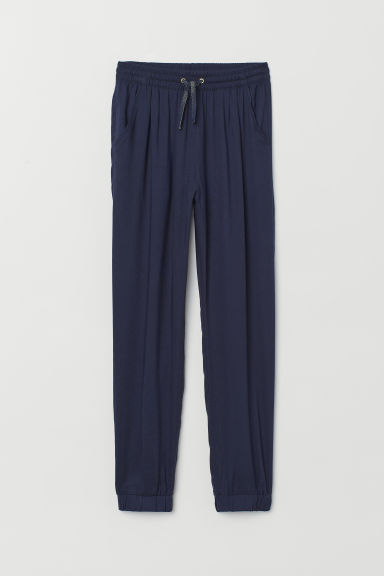 Pantaloni pull-on - Blu scuro - BAMBINO | H&M IT