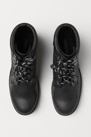 Chunky-sole boots - Black - Ladies | H&M