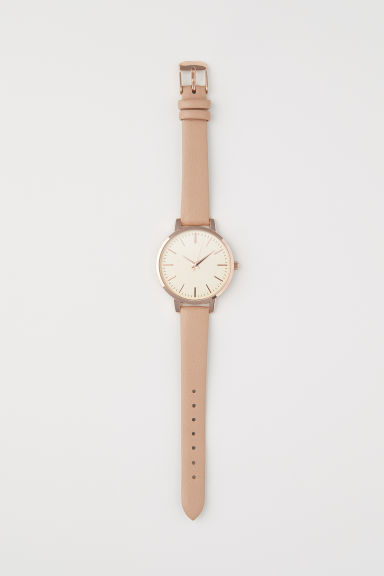 Watch - Light beige - Ladies | H&M CN