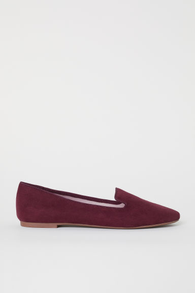Loafers - Burgundy - Ladies | H&M