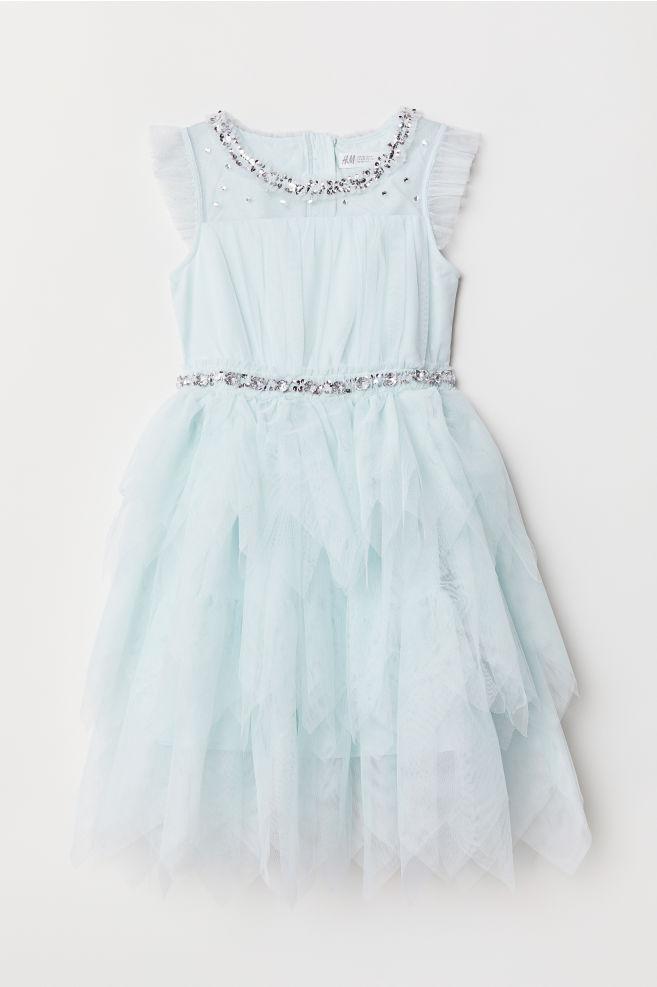 8da1b58b98 Tiulowa sukienka - Jasnoniebieski - Dziecko