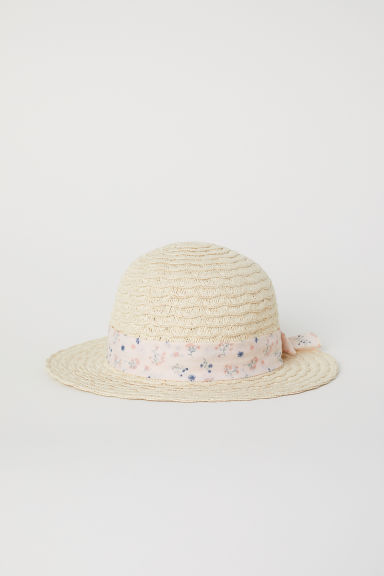 Straw hat - Natural - Kids | H&M CN