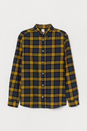 Flanellskjorte Regular Fit