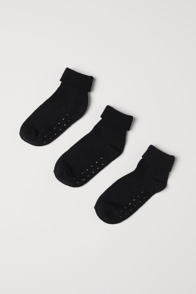 3-pack socks - Black -  | H&M CN