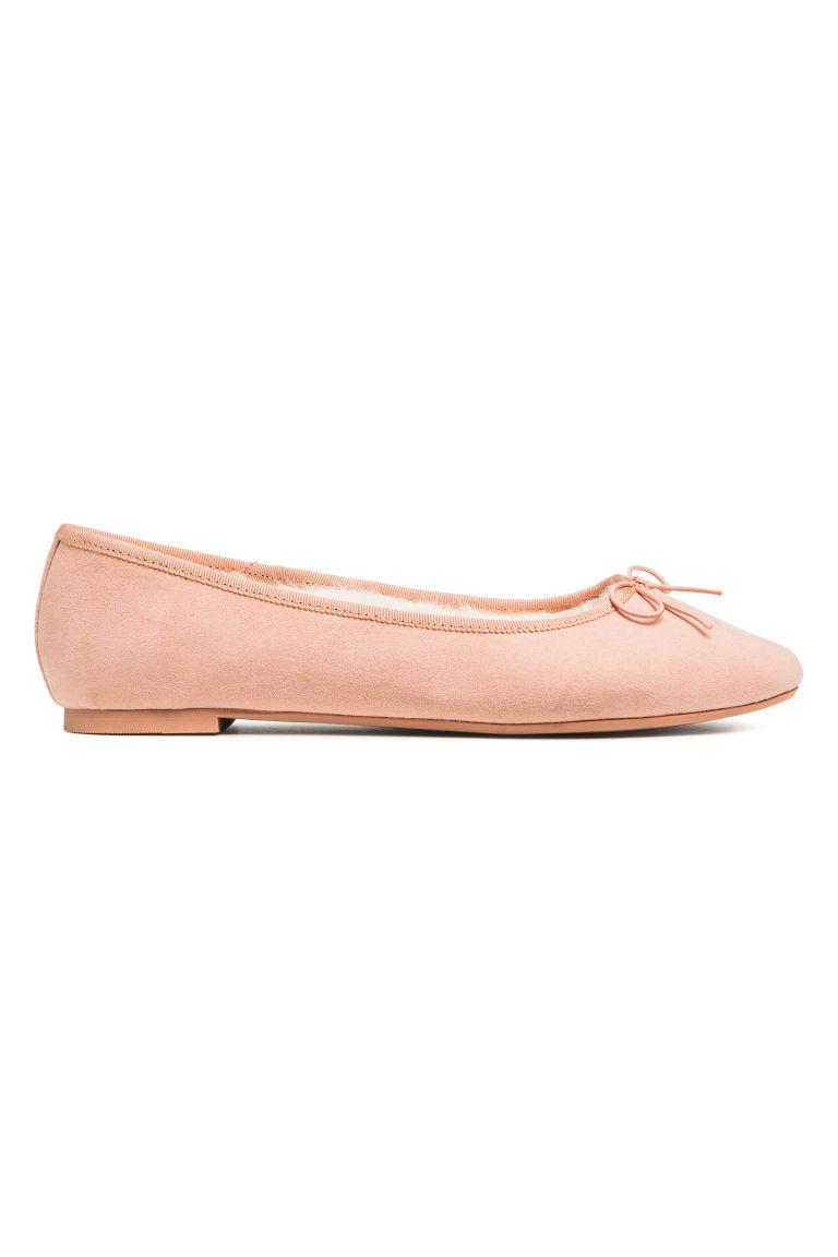 mejores zapatillas de deporte comprar precio favorable Bailarinas forradas