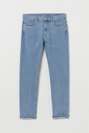 Slim Straight Selvedge Jeans