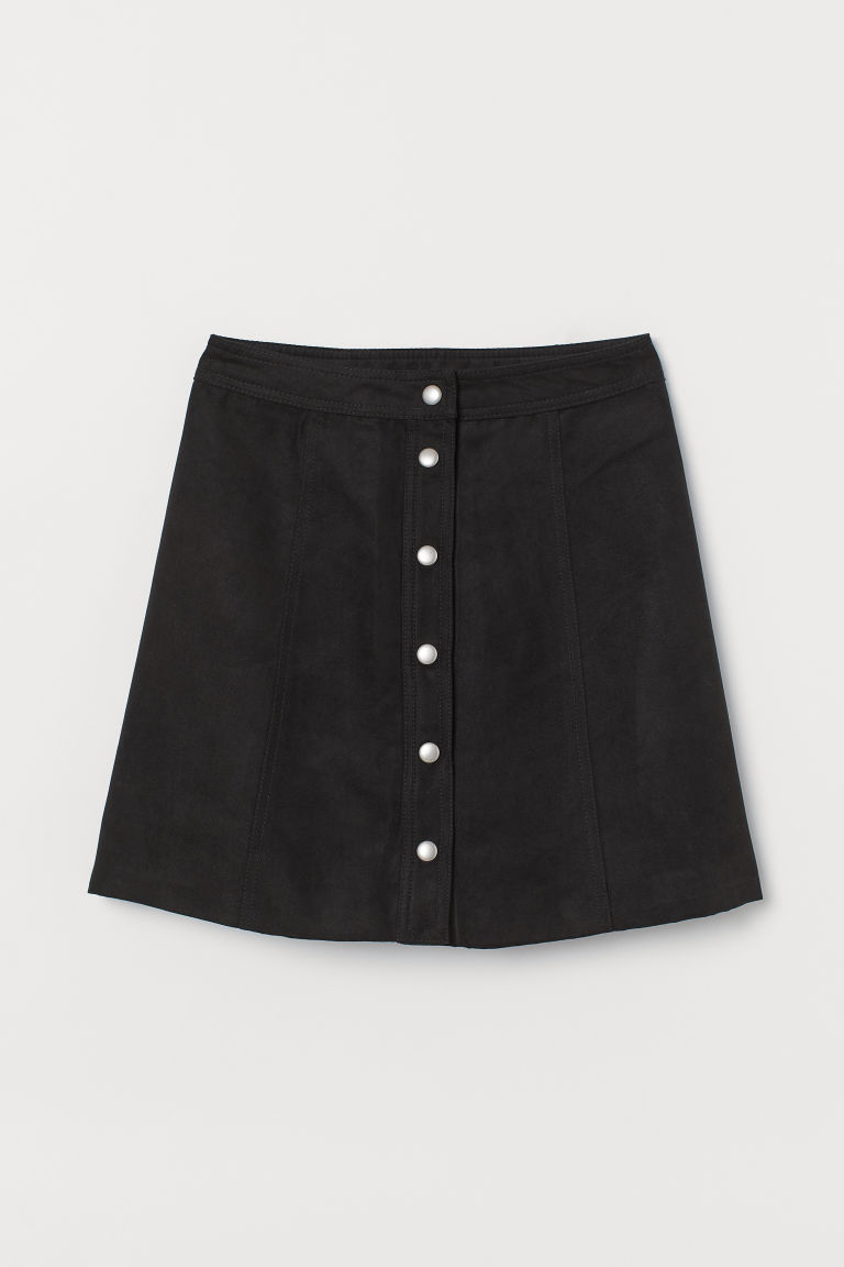 A-line skirt - Black - Ladies | H&M IN