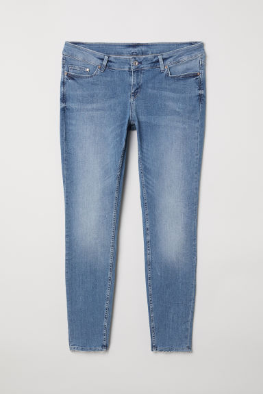 H&M+ Skinny Low Jeans - Light denim blue - Ladies | H&M
