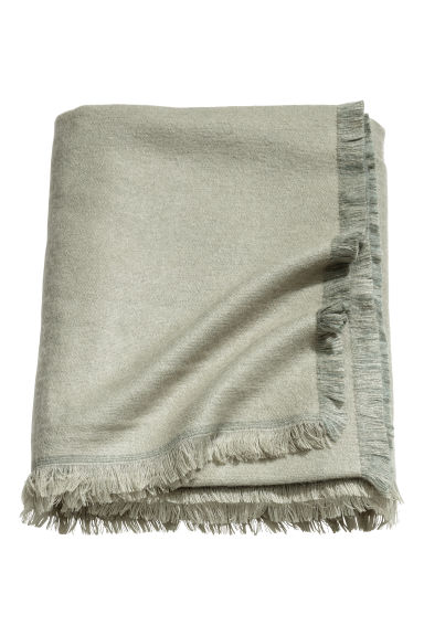 Soft blanket - Light green -  | H&M IE