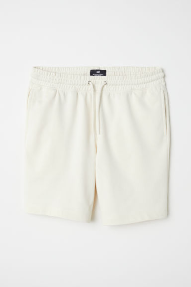 Sweatshirt shorts - Cream - Men | H&M CN