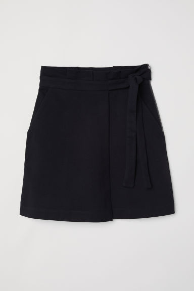 Twill skirt - Black - Ladies | H&M