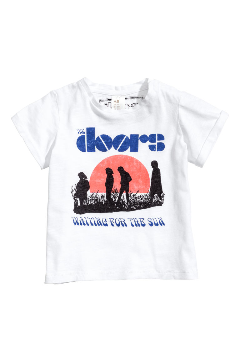 T-shirt med tryck - Vit/The Doors - BARN | H&M SE