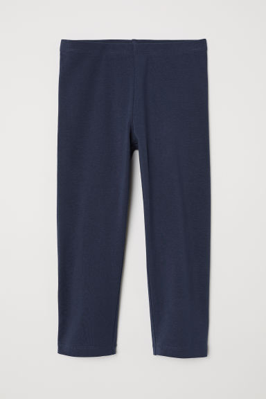 3/4-length leggings - Dark blue - Kids | H&M CN
