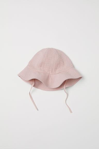 Cotton sun hat - Powder pink - Kids | H&M CN