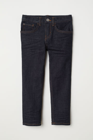 Slim Fit Jeans - Donker denimblauw -  | H&M BE