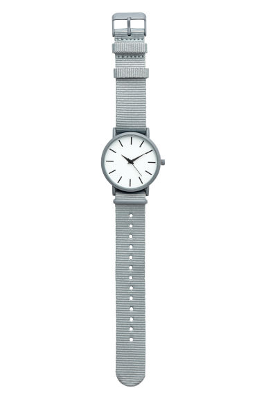 Watch - Light grey - Men | H&M CN