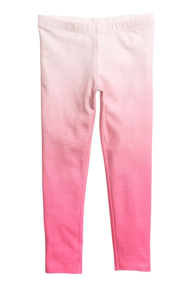 Jersey leggings - Pink - Kids | H&M CN