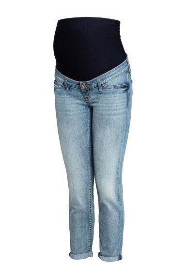 MAMA Skinny Ankle Jeans - Licht denimblauw -  | H&M BE