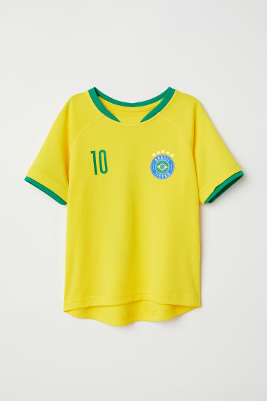 Football shirt - Yellow/Brasil - Kids | H&M GB
