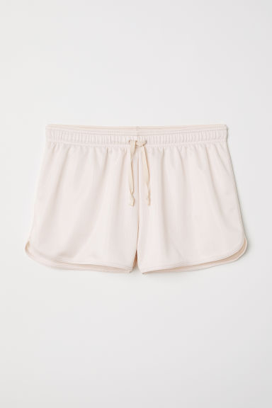 Sports shorts - Powder beige - Ladies | H&M CN