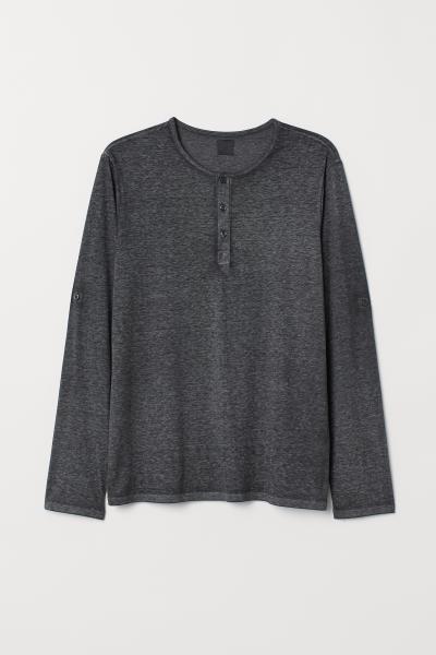 H&M - T-shirt à col tunisien - 5