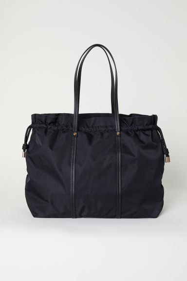 Nylon weekend bag - Black - Ladies | H&M