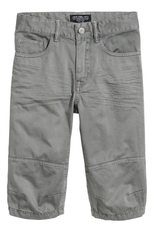 24eaedaf54 Kényelmes viselet Halásznadrág - Sötétszürke - GYEREK   H&M ...