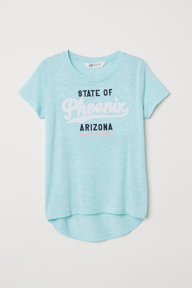 Top with a motif - Turquoise/Phoenix - Kids | H&M
