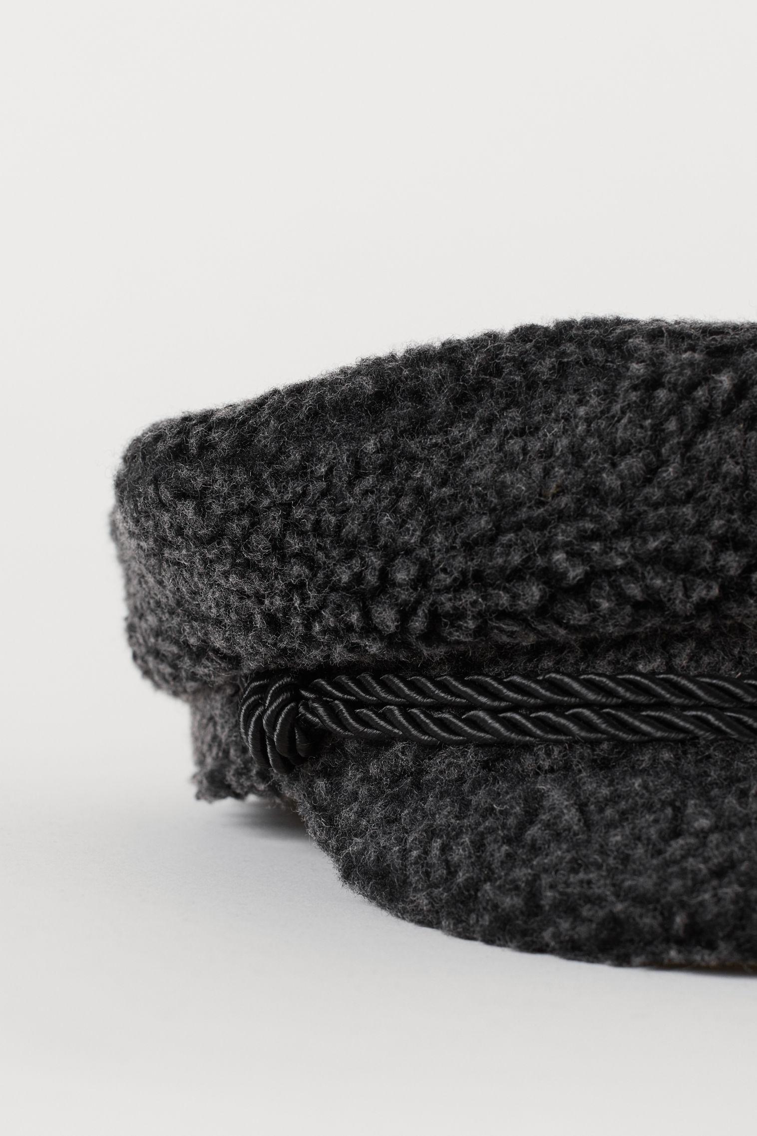 Kapitánská čepice - Černá - ŽENY  02eba05c56