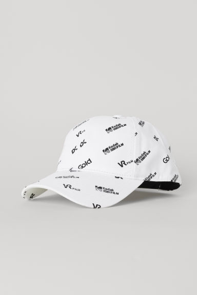 Cotton twill cap - White/Kodak - Men | H&M CN