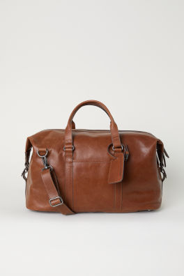 488307ba9a Leather Weekend Bag