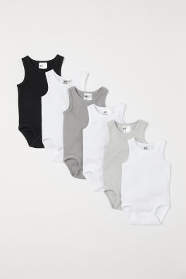 41c1603d5 Baby Boy Bodysuits - 4-24 months - Shop online | H&M US