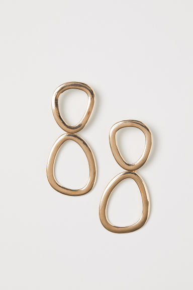 Long earrings - Gold-coloured - Ladies | H&M GB