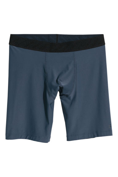 Sports boxer shorts - Dark blue - Men | H&M GB