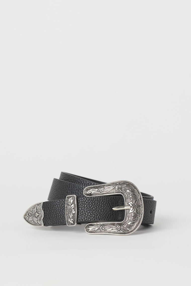 Narrow Belt - Black - Ladies | H&M CA