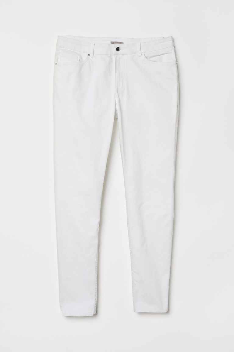 H&M+ Pantaloni in twill - Bianco - DONNA | H&M IT