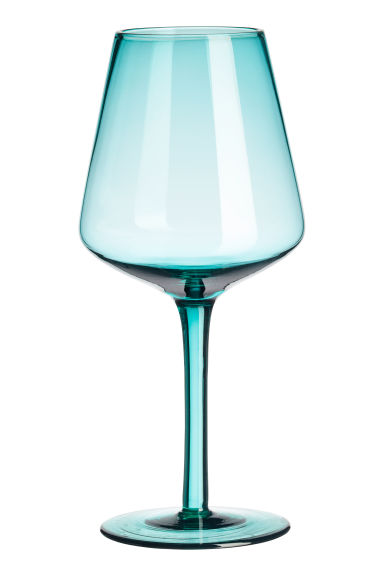 Verre à pied - Turquoise - Home All | H&M FR