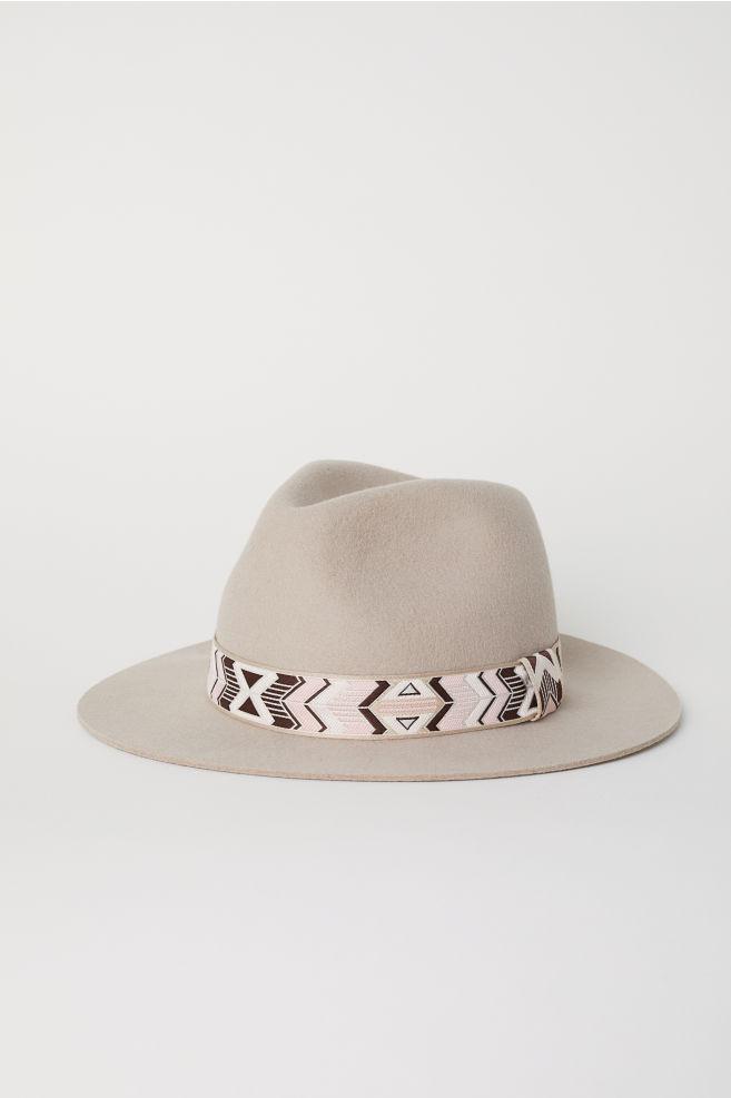 b59b5baef Felted Wool Hat