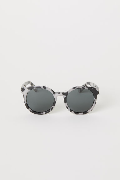 Polarised sunglasses - Dark beige/Leopard print -  | H&M CN