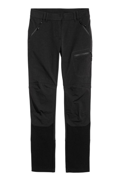Outdoor trousers - Black -  | H&M