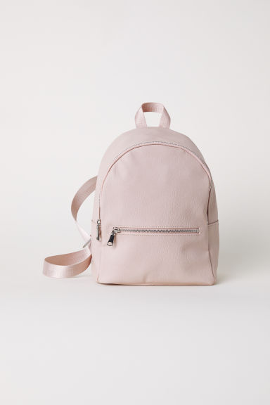Small backpack - Light pink - Ladies | H&M GB