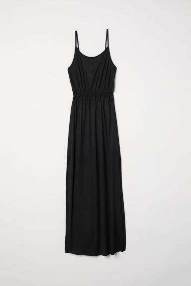 Maxi dress - Black - Ladies | H&M CN