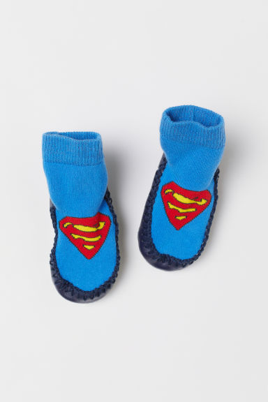 Moccasins - Blue/Superman - Kids | H&M CN