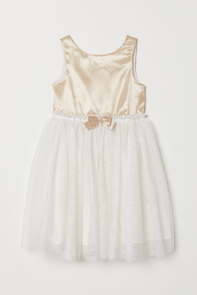 Tulle dress - Gold-coloured - Kids | H&M